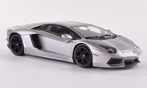 Lamborghini Aventador LP700-4, metallic-grey