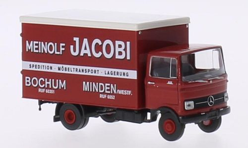 Mercedes LP 608 box wagon, Meinolf Jacobi, Bochum