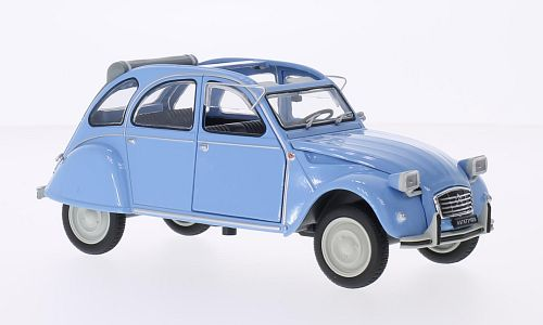 Citroen 2CV 4, light blue