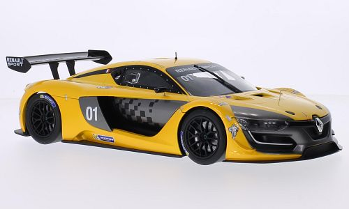 Renault R.S.01, metallic-yellow, No.1, Renault sport