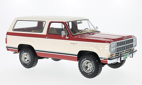 Dodge Ramcharger, red/white