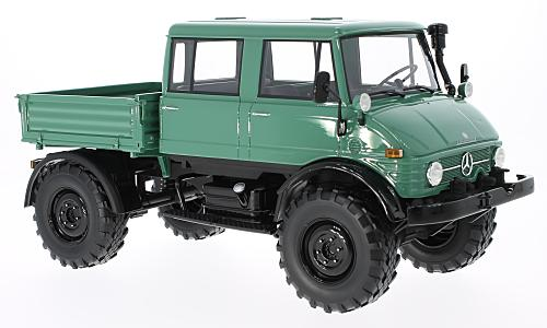 Mercedes Unimog 416 DoKa, green/black