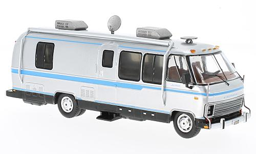 Airstream Excella 280 Turbo, silver/light blue