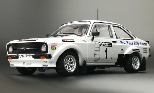 Ford Escort MKII RS1800, No.1, Viking Motor Sport, West Wales Rally Spares, RAC Rally