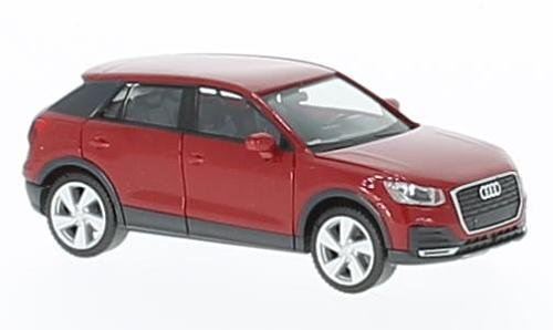 Audi Q2, metallic-red