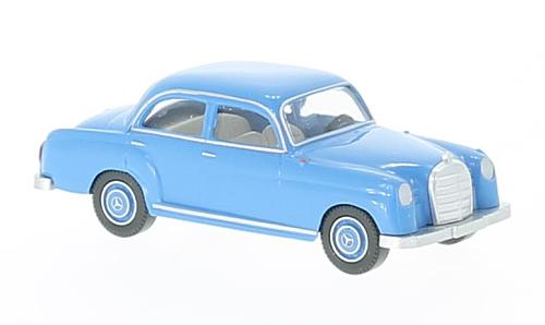 Mercedes 180, light blue