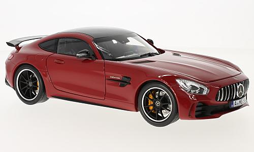 Mercedes AMG GT wheels, red