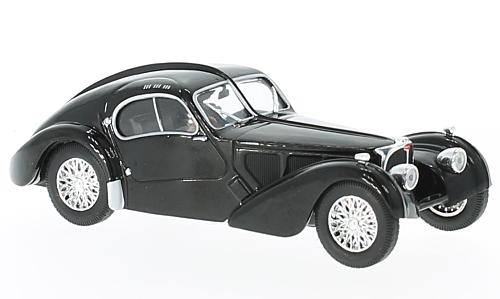 Bugatti typ 57 SC Atlantic, black, RHD