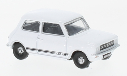 Mini 1275 GT, white, RHD