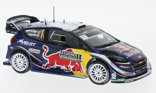 Ford Fiesta WRC, No.1, combine harvester-cutting-sport World Rally team, Red Bull, Rallye WM, Rallye Monte Carlo