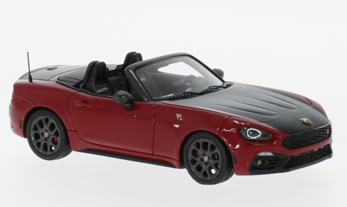 Fiat Abarth 124 Spider, red/black
