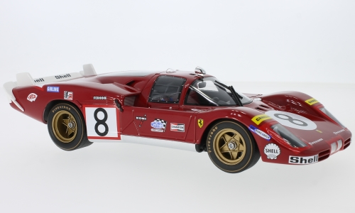 Ferrari 512 Southern Long Tail, No.8, 24h Le Mans
