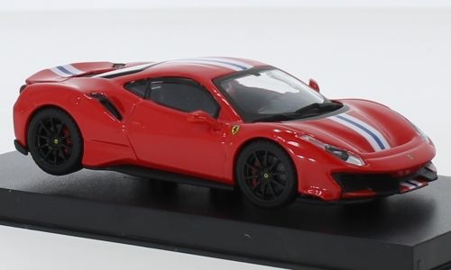 Ferrari 488 Pista, red/white