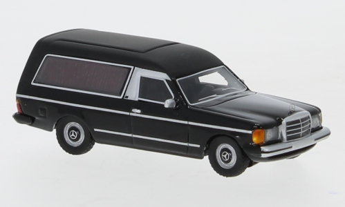 Mercedes W123 hearses, black