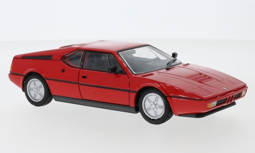 BMW M1, red
