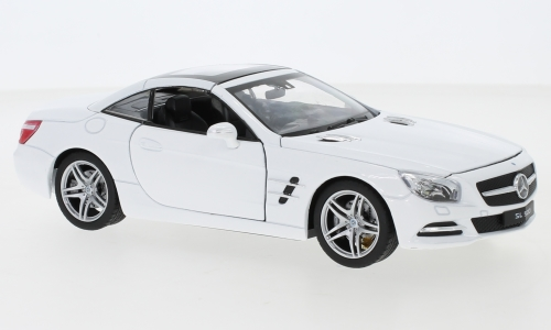 Mercedes SL 500 (R231), white