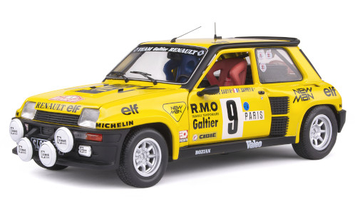 Renault 5 Turbo, No.9, team Galtier Renault, New MAN, Rallye WM, Rallye Monte Carlo