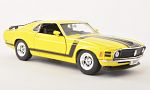 FORD Mustang Boss 302, yellow