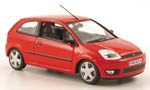 FORD Fiesta, red