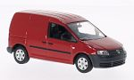 VW Caddy, red
