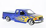 FORD F-150 Flareside Supercab Low Rider, Blå/Decorated