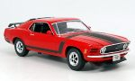 FORD Mustang Boss, red