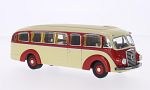MERCEDES LO 3500, beige/red