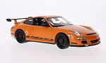PORSCHE 911 GT3 RS (997), orange/Decorated