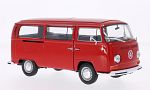 VW T2 Bus, red