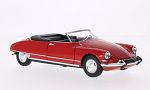 CITROEN DS 19 Convertible, red