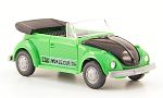 VW beetle, green/black, World Cup 74