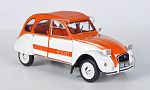 CITROEN 2CV Spot, orange/white