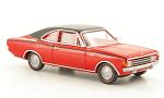 OPEL Rekord C Coupe, red/black
