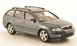 SKODA Octavia station wagon, metallic-grey