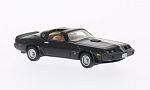 PONTIAC Firebird Trans Am, black/Decorated