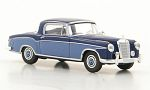 MERCEDES 220 S Coupe (W180 II), dark blue/light blue