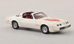 PONTIAC Firebird Trans Am, white/Decorated