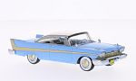PLYMOUTH Fury Hardtop, light blue/white