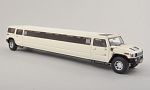 HUMMER H2 stretch Limousine, white