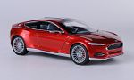 FORD Evos concept, metallic-red