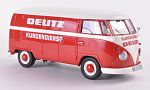 VW T1 box wagon, Deutz customer service