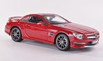 MERCEDES SL 63 AMG (R231), red
