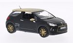 CITROEN DS3 racing, matt-black/matt-gold