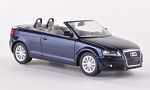AUDI A3 Convertible (8P), metallic-dark blue