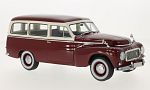 VOLVO PV445 Duett, dark red/beige