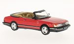 SAAB 900 Turbo Convertible, red