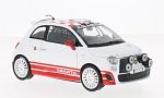 FIAT Abarth 500 R3T, white/red
