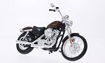 HARLEY DAVIDSON XL 1200 V Seventy-Two , metallic-dark red