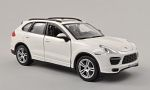 PORSCHE Cayenne (92A) Turbo, white