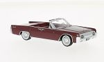 LINCOLN Continental 53A Convertible , dark red
